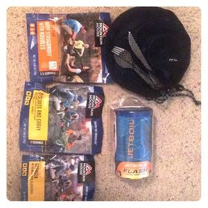 Jetboil Camping Stove with accessories
